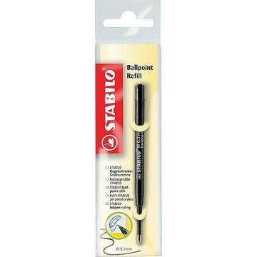 STABILO BALLPOINT REFILL MEDIUM 0.5mm